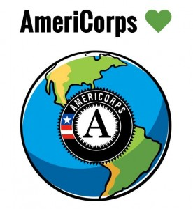 AmeriCorps has a green heart. Members protect and restore the Earth.